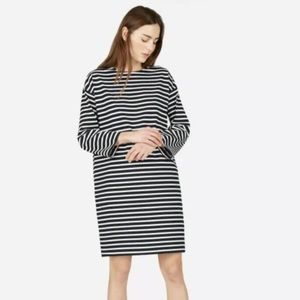 Everlane Breton cotton dress XXS boho urban anthro